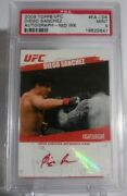 2009 Topps Ufc Round 2 Diego Sanchez Auto Red Ink Parallel /25 Rare Group A