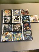 Nintendo Ds Pokemon Games Lot - Group Of 13 Games - W/ Cases And Manuals