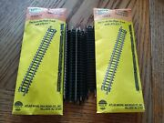 Atlas N Scale Straight Track 2501 20 Pcs Used But Clean Free Shipping