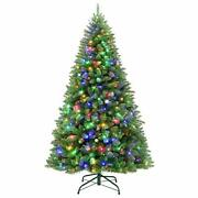 Hykolity 6.5 Ft Prelit Artificial Christmas Tree With 350 Multicolor Lights 1...