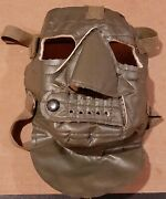 Vintage U.s. Military Kiffe Japan Cold Weather Mask Cold Protection Marked