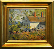A Fine Susan Ricker Knox Painting 1915 Oil On Artist Boardsigned