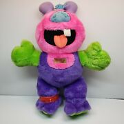 Vintage Rare My Pet Zugly Monster Plush Stuffed Animal 18 Marchon 1986 Toy