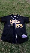 Mike Trout Angels Autographed Signed Salt Lake City Bees Jersey Mlb