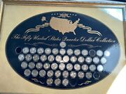 Us Commemorative Gallery The Fifty United States Quarter Dollar Collection 1999