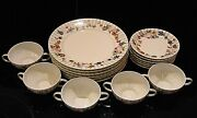 Wm. Guerin And Co. Limoges France For Dulin And Martin Gue281 China Luncheon Set.