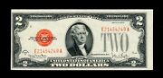 1928g 2 Legal Tender Red Seal Uncirculated