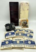 Vintage Sawyer's View-master Viewer W/ Reels And Case - Disney Stories And Monuments