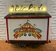 Complete Circus Train-set Of Six Circus Cars