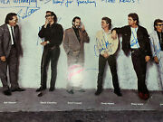 Huey Lewis And The News Band Signed Autograph 12x8