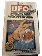 The Ufo Whirling Card Helicopter Card - Houdiniand039s Magic Shop Munari And Blais