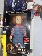 Childand039s Play Rare Vintage 24 Animated Talking Chucky Figure Doll - Gemmy