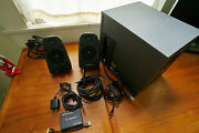Logitech Z625 Thx Computer Speakers With Hdmi Audio Extractor And Optical Cable