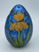 Orient And Flume Art Glass Paperweight Limited Edition 86/500 Signed Alexander