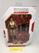 Wwe Rowdy Ronda Rousey Ultimate Edition Mattel 6andrdquo Inch Action Figure New Lk