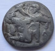 Islands Off Thrace Thasos Ar Stater. 500-480 Bc. 844 G / 22 Mm. 1666