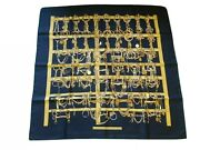 Rare Hermes Scarf - Special Issue 1997 - Bnib -martell Grand National