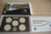 2019 United States Mint America The Beautiful Quarters Silver Proof Set
