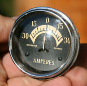 33-36 Cadillac Lasalle Vintage Amp Gauge - Bubble Curved Glass
