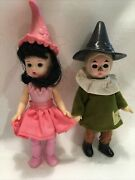 Lot Of 2 Mcdonalds Madame Alexander Wizard Of Oz Dolls From 2008