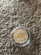 Rare Homestake Mining Company 125 Years Of Mining 1/10 Oz Gold / Silver Round