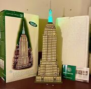 Department 56 Andlsquochristmas In The Cityandrsquo Historical Landmark Empire State Building