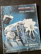Detroit Diesel Engines Kent Moore Special Tools Manual Service Parts Book Guide