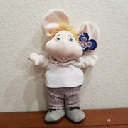 Topo Gigio Talking Doll Plush Mouse Battery Operated Says 5 Phrases In Spanish