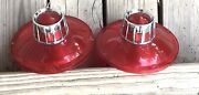 Very Very Nice 63 Ford Galaxie Tail Light Lenses Pair Used Hard To Believe