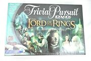 New The Lord Of The Rings Trivial Pursuit Dvd Trilogy Parker Bros Board Game