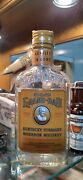Old Grand-dad Half Pint Bottle W Tax Stamp  Proof Kentucky Bourbon Whiskey