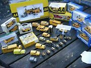 Collection Of Aa Automobile Diecast Dinky Budgie Corgi Etc.