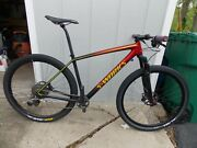 Large Specialized S-works Epic 29 Carbon Fiber Mountain Bike Bicycle Mtb 29er