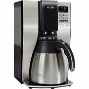 10 Cup Coffee Maker | Optimal Brew Thermal System Black/chrome