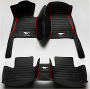 For Ford Mustang Coupe Convertible Luxury Ecoboost Base Custom Car Floor Mats