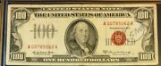 Series 1966a 100 Legal Tender United States Note, Scarce, Elston/kennedy 3397
