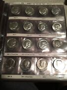 1964-1998d Kennedy P,d Half Dollar Hg 96 Coin Set, Also Includes Many S Proofs