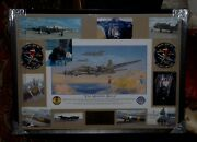 Huge One-of-a-kind Autographed Memphis Belle Grouping Book Dish Model Must L@@k