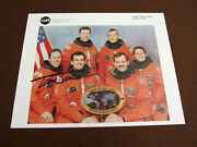 Tom Jones Nasa Shuttle Astronaut 4 Sts Missions Signed Auto Sts-68 Litho Photo