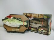 Big Mouth Billy Bass Sings Christmas Edition Vintage Singing Fish With Box 1999