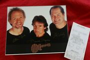 The Monkees Autographed Signed Photo Micky Dolenz, Davy Jones, Peter Tork-100