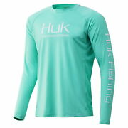 Huk Performance Fishing Pursuit Vented Long Sleeve Tees - Menand039s