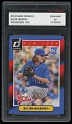Jacob Degrom 2014 Panini Donruss The Rookies 1st Graded 10 Rookie Card Rc Mets