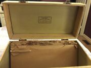 Antique Liberty Music Shops Storage/carrying Case 78 Rpm 10 Records Dividers