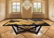Epoxy Dining Custom Resin Table Top Home And Office Furniture Resin Acacia Decors
