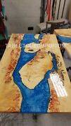 Epoxy Table Custom Order Dining Table Acacia Wooden Table Epoxy Resin Tops