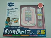New Vtech Innotab 3 Plus Learning Tablet New In Box
