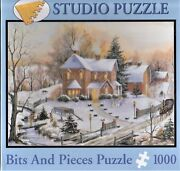 Nib American Gothic By Mary Ann Vessey 1000 Pc Jigsaw Puzzle Bits And Pieces