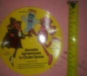 Vintage Monster Adventures In Outer Space Count Chocula Frankenberry 45 Record