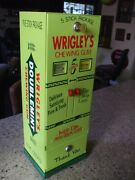 Wrigley's Doublemint Gum Double Column Vending Machine Gumball Candy Last One